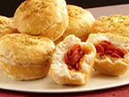 Pepperoni Pizza Stuffed Biscuits