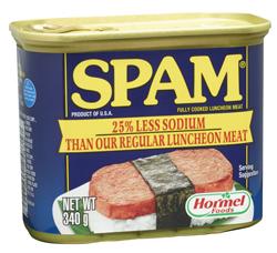 SPAM® 25% Less Sodium