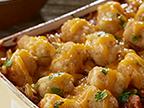 Cocotte au chili et aux croquettes de pommes de terre
