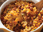 Chili Mac 'n' Cheese Bake