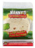 MANNY'S® Flour Tortilla Soft Taco Size