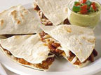 Quesadillas au chili